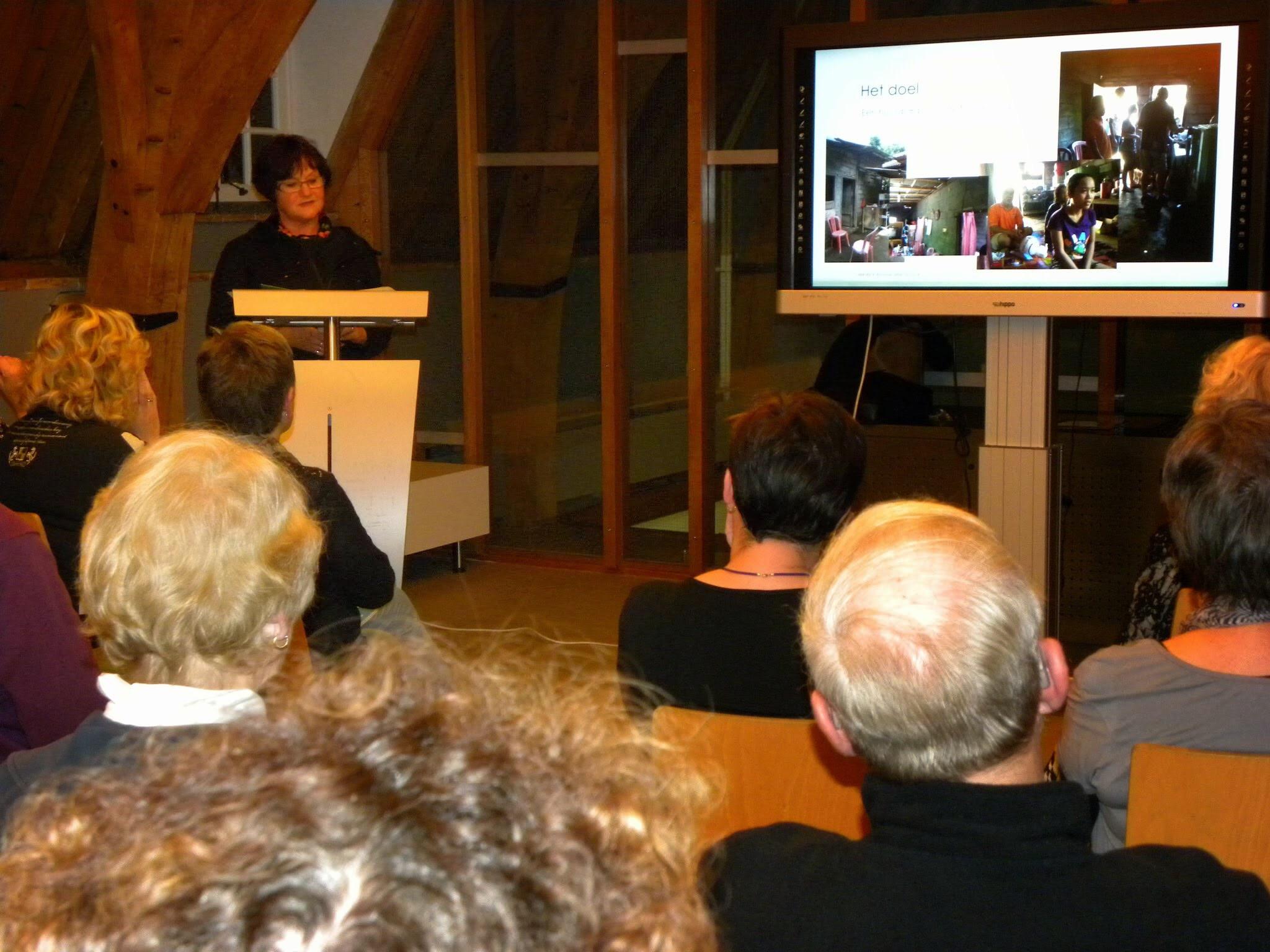 Indrukwekkende lezing van Lilian Boudewijn-Slaats