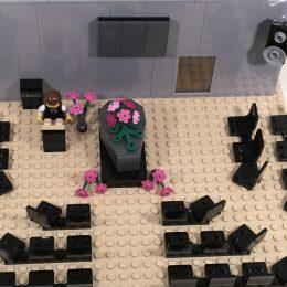 Uitvaart lego